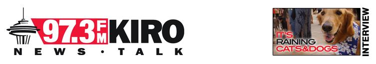 KIRO Radio Seattle — It's Raining Cats and Dogs