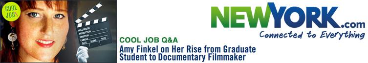 New York Dot Com: Amy Finkel on Her Rise from Graduate Student to Documentary Filmmaker
