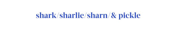 Shark Sharlie Sharn Pickle